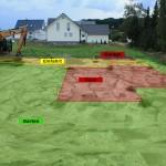 Planung Grundstück
