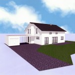 Haus 3D vorne